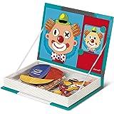 Janod - Magnetibook Crazy Face, libro magnético (J05545)