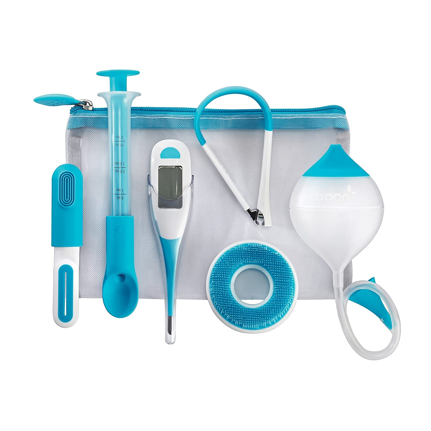 Boon Boon Care Health and Grooming Kit for Babies, Blue & White