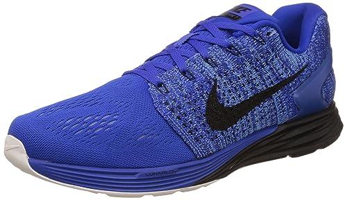 sale retailer 14acc 5b51b Nike Men s s Lunarglide 7 Running Shoes Azul (Racer Blue Black-Sl-Dp