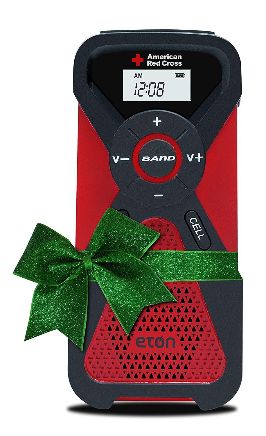 Eton American Red Cross, Multi-Powered, Smartphone Charger, Weather Alert Radio and Flashlight in One, FR1 ARCFR1WXR