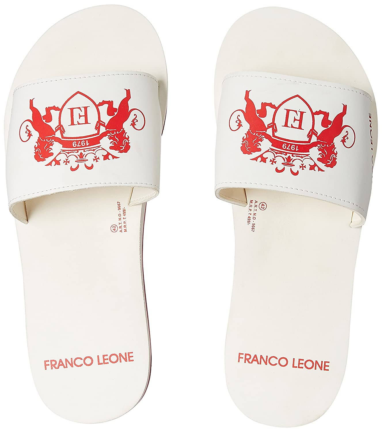 c1e5aa5b6af293 Franco Leone Men s Flip-Flops and House Slippers  Buy Online at Low Prices  in India - Amazon.in