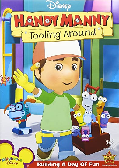 Amazon com: Handy Manny - Tooling Around: Wilmer Valderrama