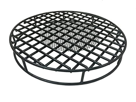 Walden Fire Pit Grate Round 29 5'' Diameter Premium Heavy Duty Steel Grate  with Ember Catcher for Outdoor Fire Pits