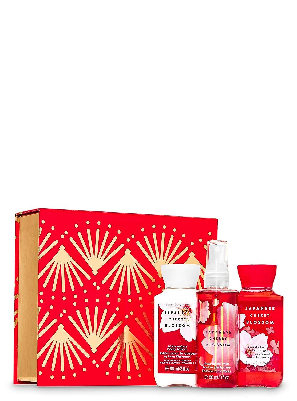 Bath & Body Works Japanese Cherry Blossom ~ Shower Gel, Body Lotion & Fragrance Mist - Travel Size