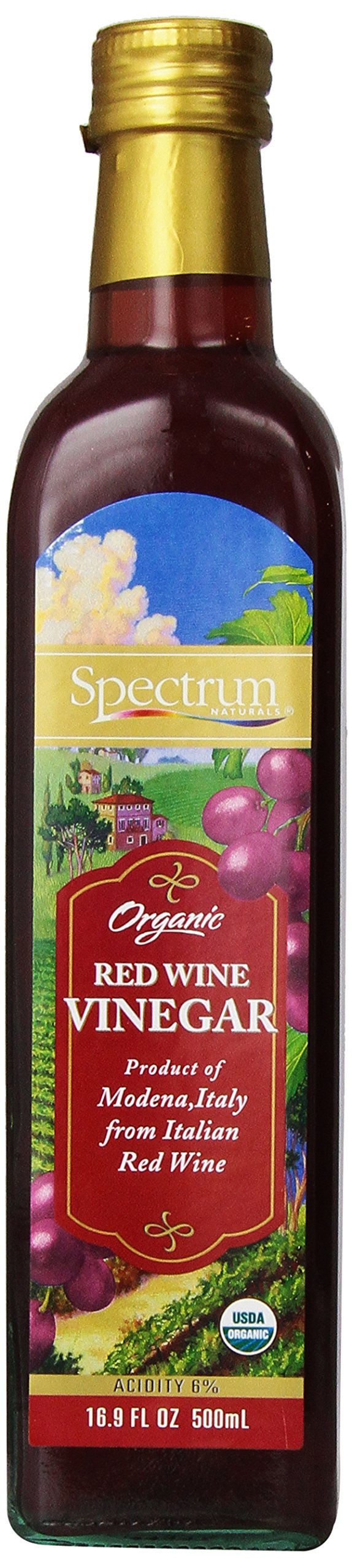 Spectrum Culinary Organic Red Wine Vinegar, 16.9 fl. oz. by Spectrum