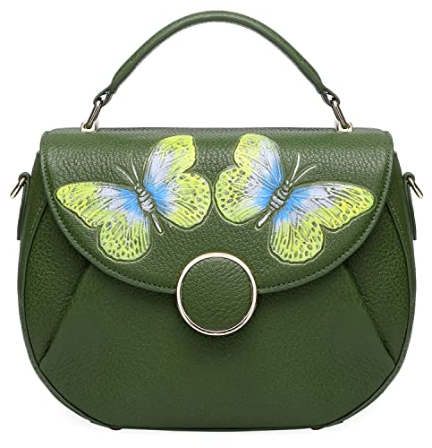 4468b7c6fd Pijushi Women s Designer Butterfly Top Handle Satchel Handbag Purse  Shoulder Cross Body Bag (one size