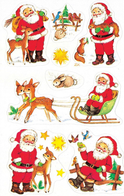 Naklejki bozonarodzeniowe Z Design Christmas Mikolaje Avery Dennison 4053