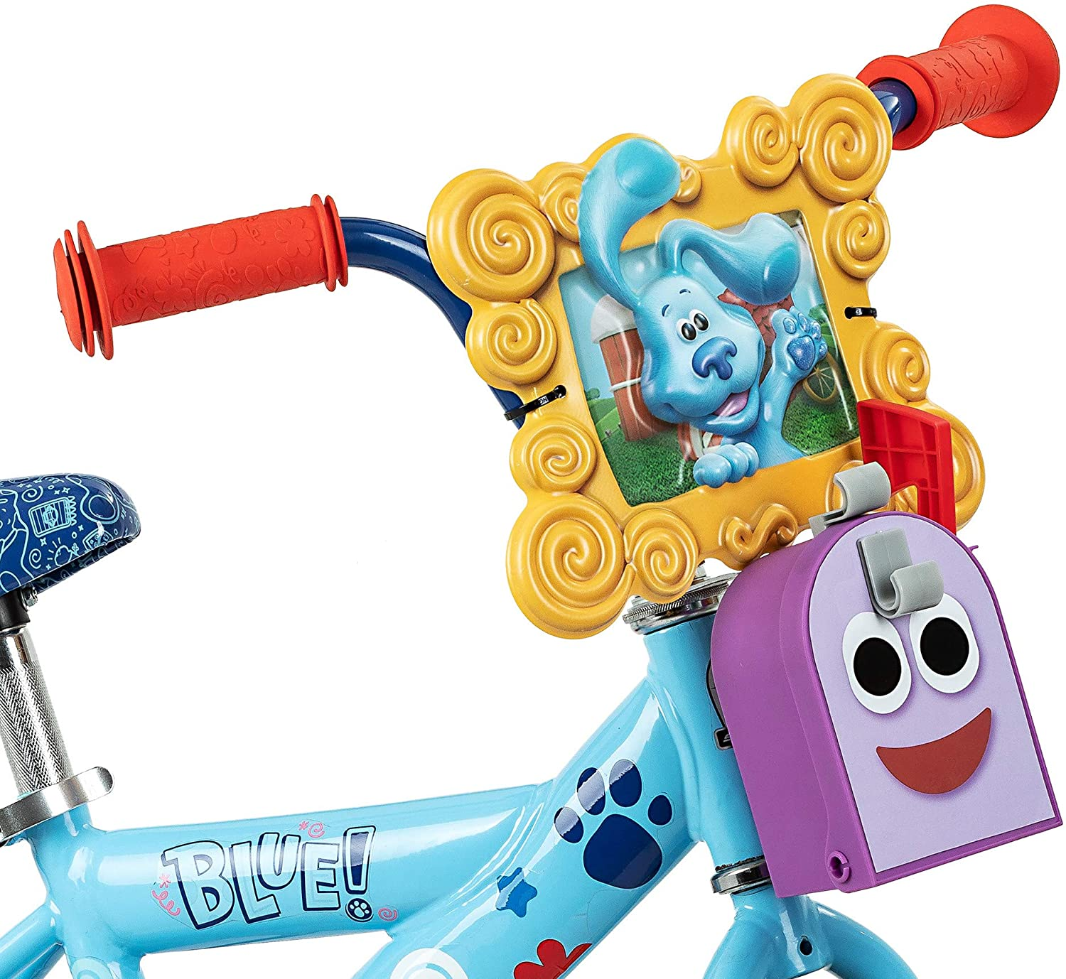 Training Wheels Included Nickelodeon Blues Clues /& You Kids Bike Ages 2-4 Year Old 12-Inch Wheels Blue