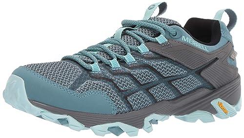 7c724848861 Merrell Women's Moab FST 2 Waterproof Hiking Shoe