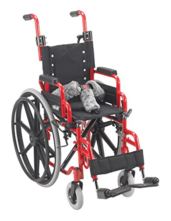 Amazon.com: Drive Medical Wallaby Pediatric silla de ruedas ...