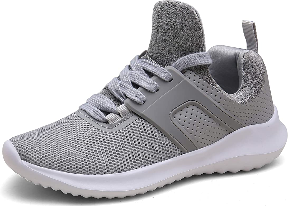Vedaxin Zapatillas de Deporte Respirable Sneakers Zapatillas Running para Hombre Mujer Unisex (EU40, A Gris Claro): Amazon.es: Zapatos y complementos