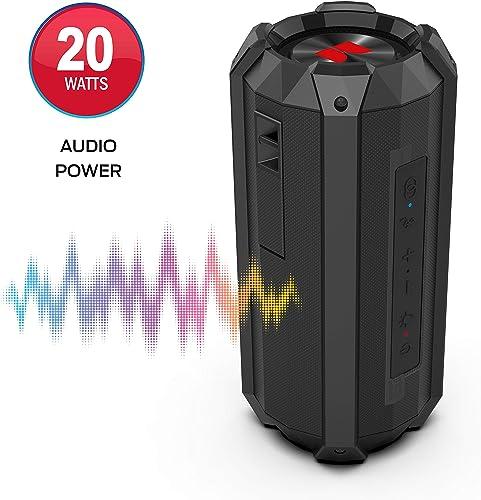 Monster Drift Waterproof Bluetooth Speaker 20 Watts