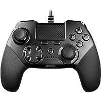 Krom KAISER - NXKROMKSR - Gamepad alambrico, diseñado para competicion, Joystick y gatillos analogicos, palancas…