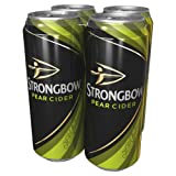 Strongbow Pear Cider, 4 x 440ml Cans