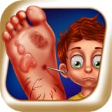 The Foot Doctor - treat feet : pretend to be the best doctor ! educational pretend play Kids Game