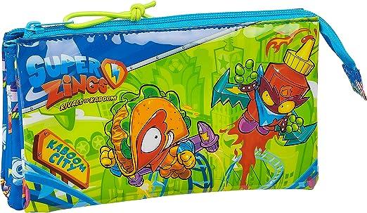 Safta- Superzings Portatodo, Color Azul, 220x30x120 mm (M744): Amazon.es: Ropa y accesorios