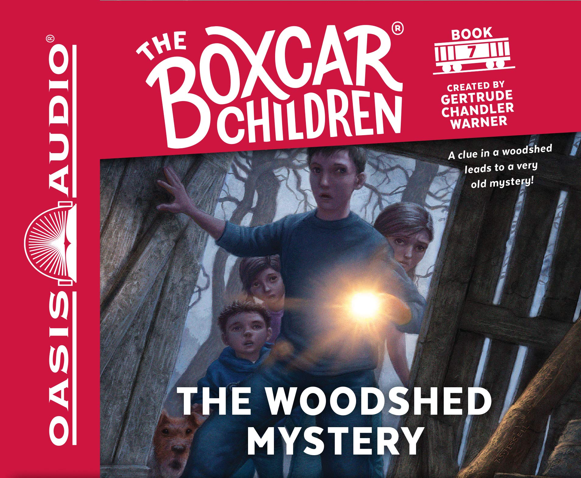Download The Woodshed Mystery (Library Edition) (The Boxcar Children Mysteries) ebook