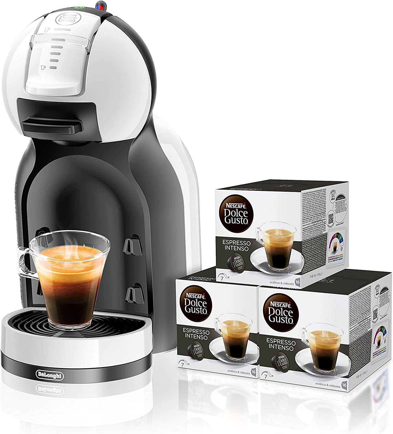 Pack DeLonghi Dolce Gusto Mini Me EDG305.WR - Cafetera de ...