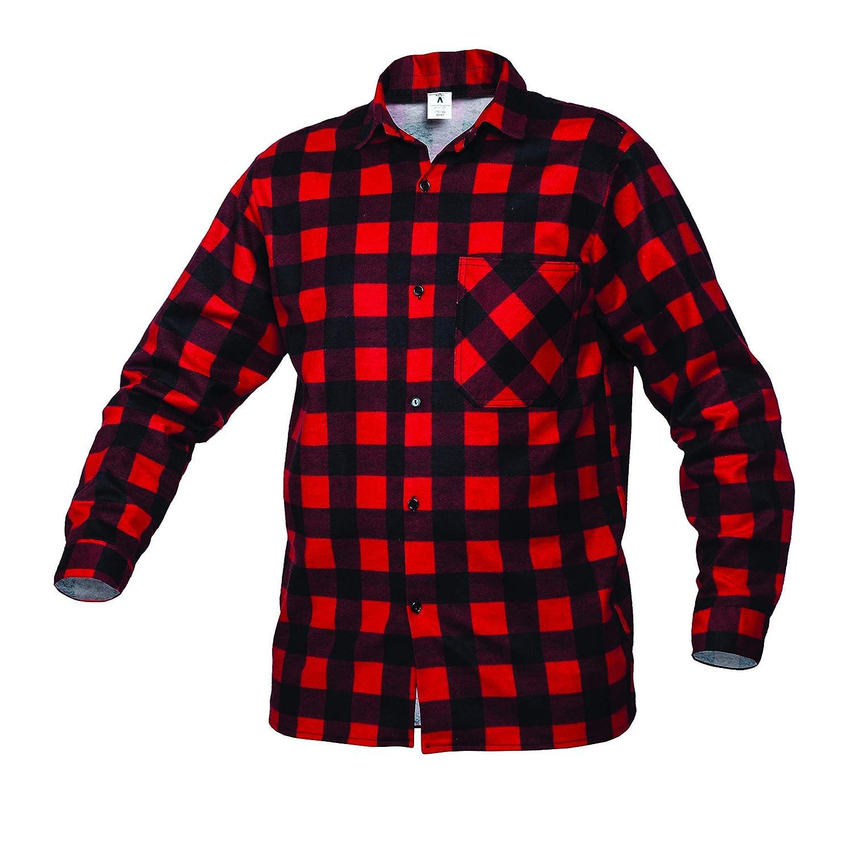 Gahibre 529 Camisa franela roja, 100% algodón 170 gramos: Amazon.es: Industria, empresas y ciencia