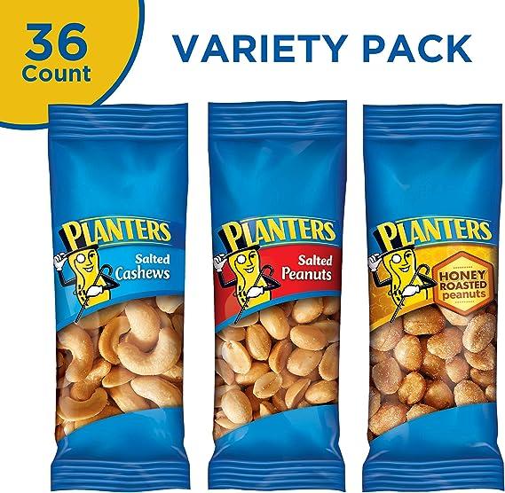 PLANTERS  Variety Packs (Salted Cashews