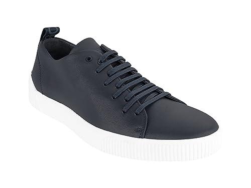BOSS Hugo Boss - Zapatillas de Piel para Hombre: Amazon.es: Zapatos y complementos