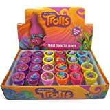 24 Trolls DreamWorks Authentic Licensed Stampers Party Favors in a Box.