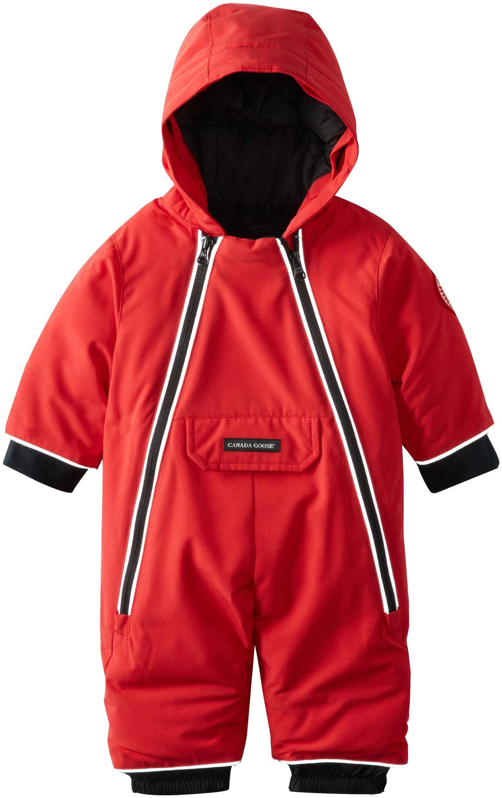 Canada Goose Baby Lamb Snowsuit, Red, 0-3 by Canada Goose (Image #2)