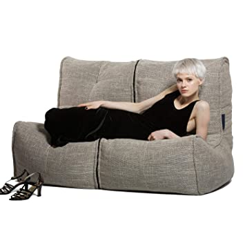 Groovy Fluco Two Seater Twin Couch Modularsofa Bean Bag Chair Andrewgaddart Wooden Chair Designs For Living Room Andrewgaddartcom