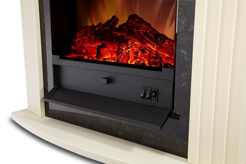 EWT 202529 Elektrisches Kaminfeuer Mini Mozart Stone: Amazon.de: Küche U0026  Haushalt