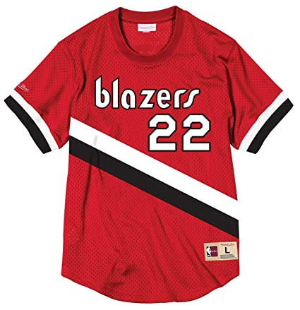 77c3f738 Amazon.com : Mitchell & Ness Clyde Drexler Portland Trail Blazers NBA Men's  Mesh Jersey Shirt : Clothing