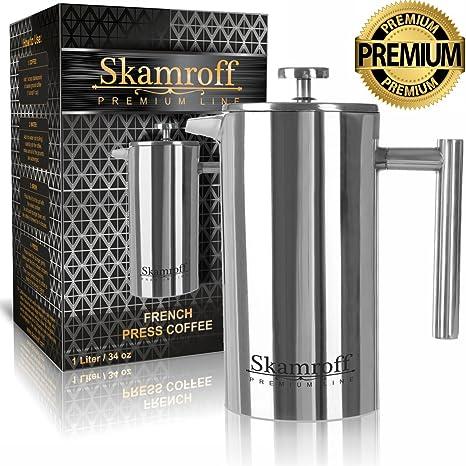 Amazon.com: Skamroff Premium Prensa de café francesa ...