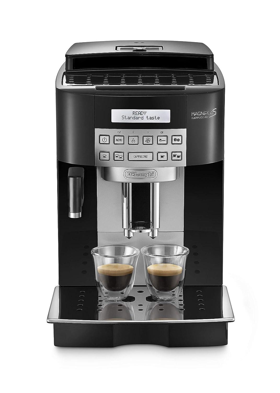 Delonghi Ecam 22.360.B - Cafetera superautomática, 15 bar de presión, capacidad 1,8l, limpieza automática, pantalla lcd, negro