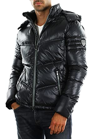 ebb653a4eb6 Ea7 - Emporio Armani - Doudoune Homme Ea7 271449 3a303 - 00020 Black ...