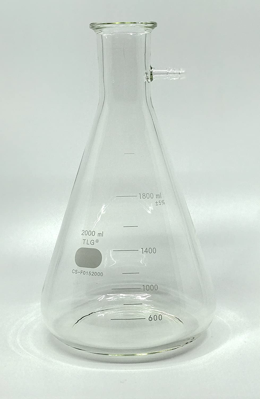 Capacity 2000 mL Sati International Inc. Buckner Filtration Bolt Neck CHEM SCIENCE INC CS-F0152000 Flask