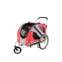 DoggyRide Original Dog Stroller Urban Red