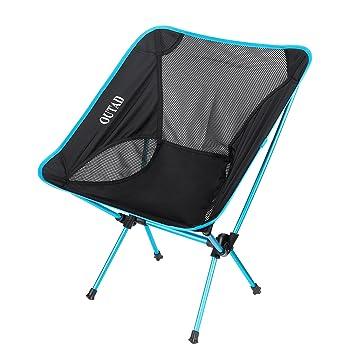Homgrace Extrieur Ultralger Camping Chaise Pliante Solide Et Durable Pour Pique Nique Pche De Plage