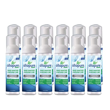 Allapure 1005 03 00 Advanced Hand Sanitizer Wound Care Foam 7 0