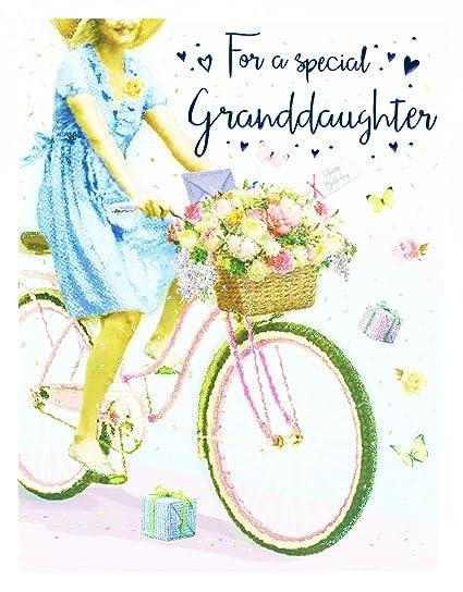 Tarjeta de felicitación de cumpleaños para nieta especial ...