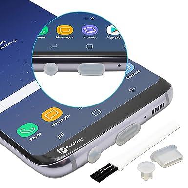 PortPlugs - Tapones antipolvo USB-C de silicona redondeados con un diseño preciso, proteja