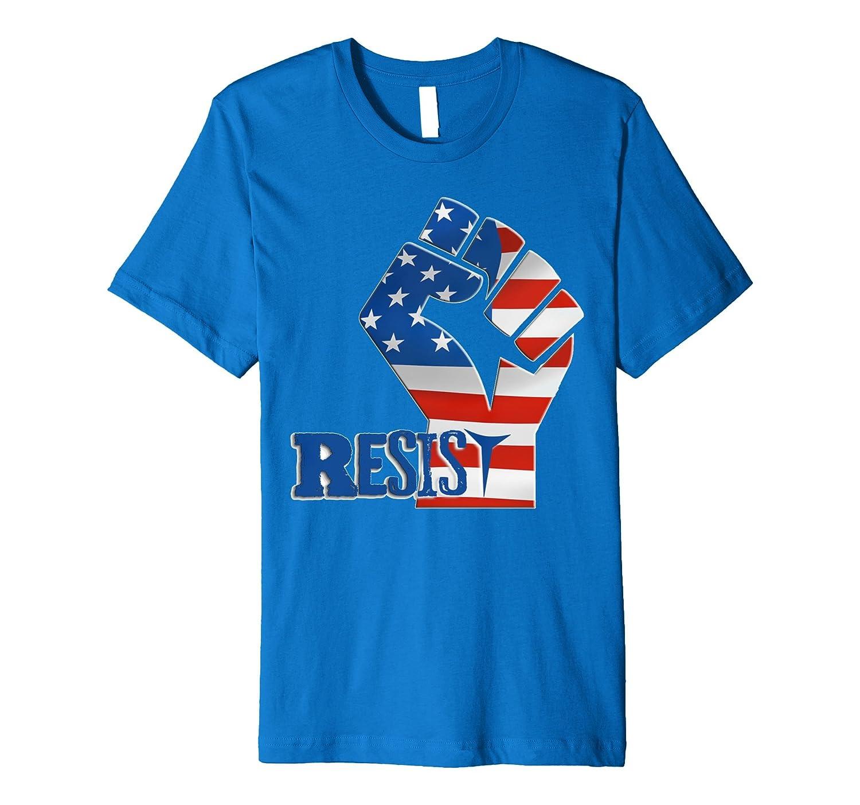 #Resist Fist Anti Trump boycott Impeach Trump T-Shirt-BN