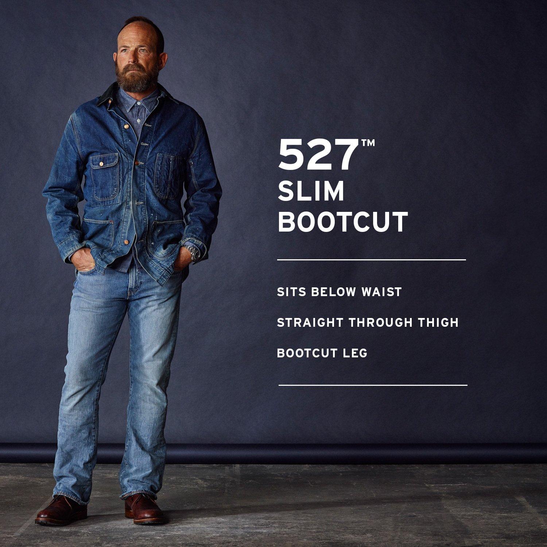 4e5a6fd59e Levi s Men s 527 Slim Bootcut Jean - 489405   Jeans   Clothing ...