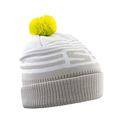 392f93d1 Amazon.com : Salomon Unisex Izi Beanie, White/Vapor/Sulphur Spring, One  Size : Clothing