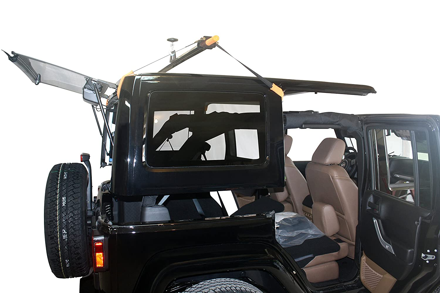 Marvelous Amazon.com: J BARR: Jeep Wrangler Hardtop Removal And Storage System  (4 DOOR Model (Full Kit)): Home Improvement