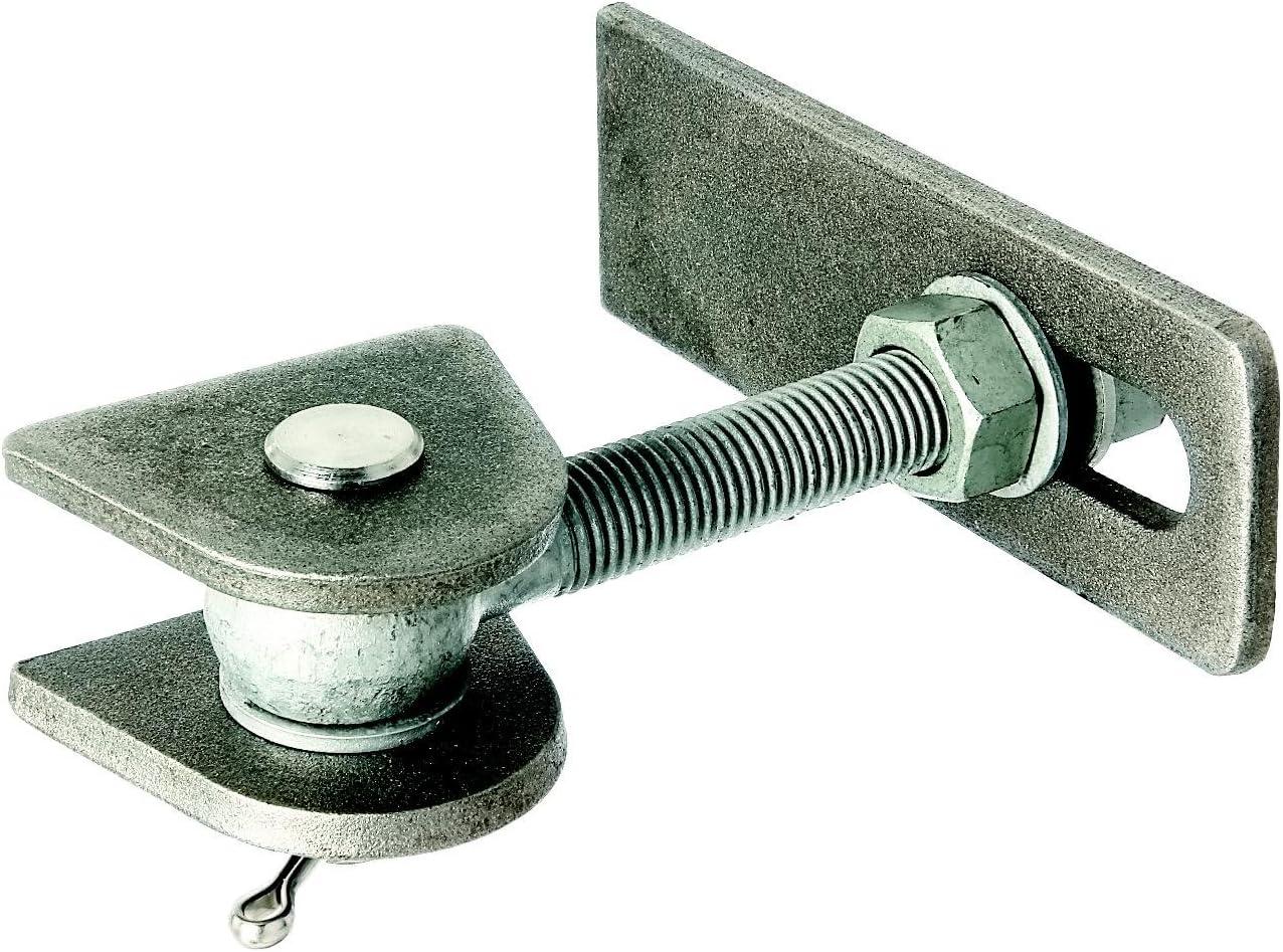 larga, tornillos y pernos galvanizados a fuego, para soldar, M20 Gah-Alberts 411145 Bisagra para apertura de 180/°