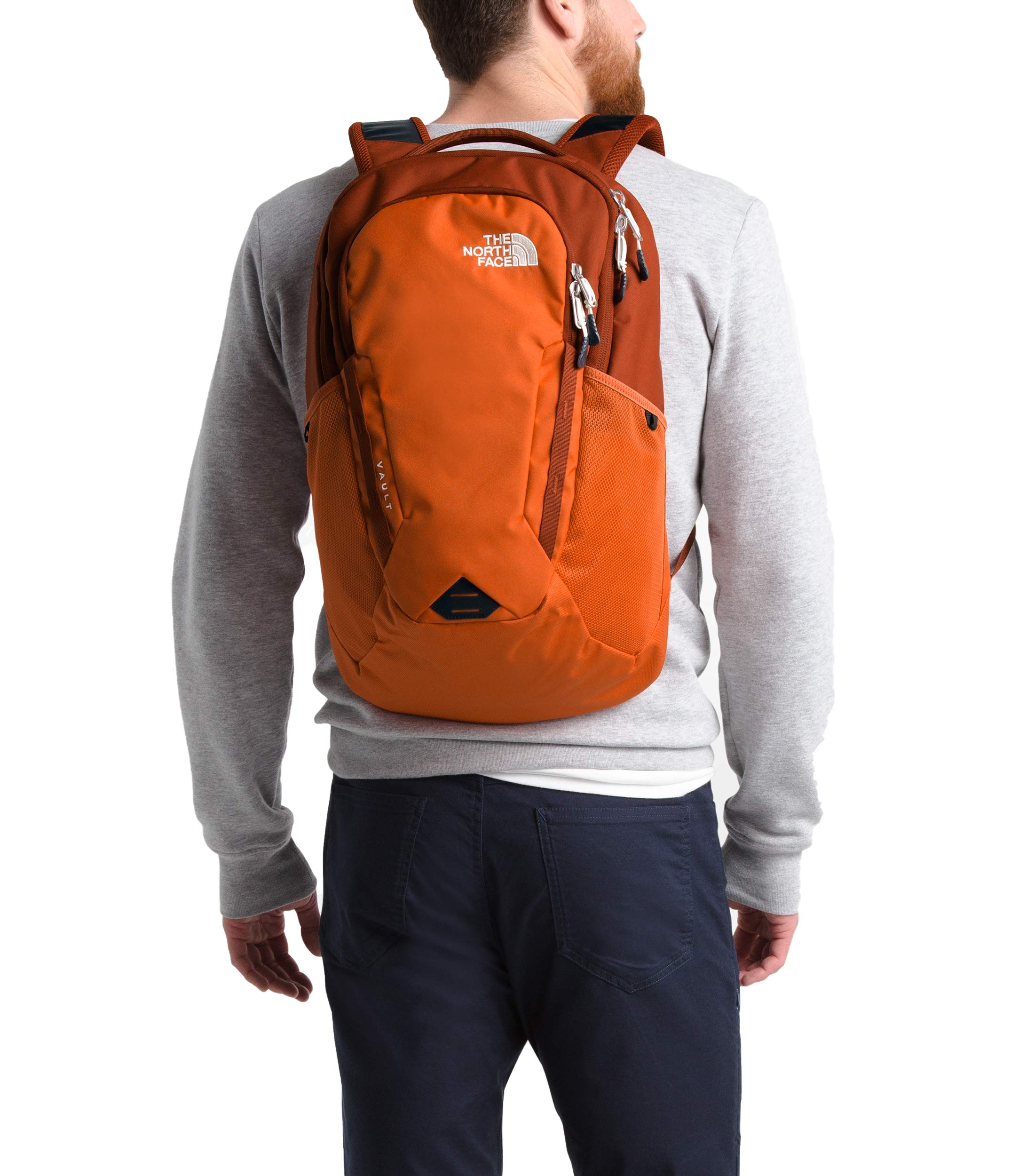 The North Face Vault, Papaya Orange/Picante Red, OS by The North Face