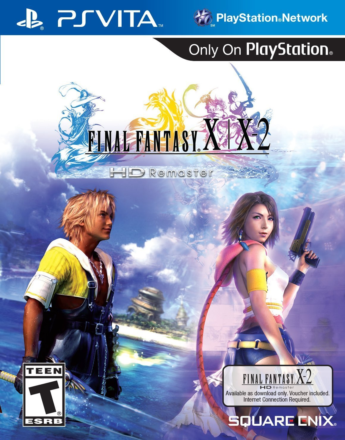 FINAL FANTASY X|X-2 HD Remaster - PlayStation Vita by Square Enix (Image #1)