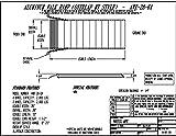 Vestil AWR-28-6A Aluminum Walk Ramp Overlap