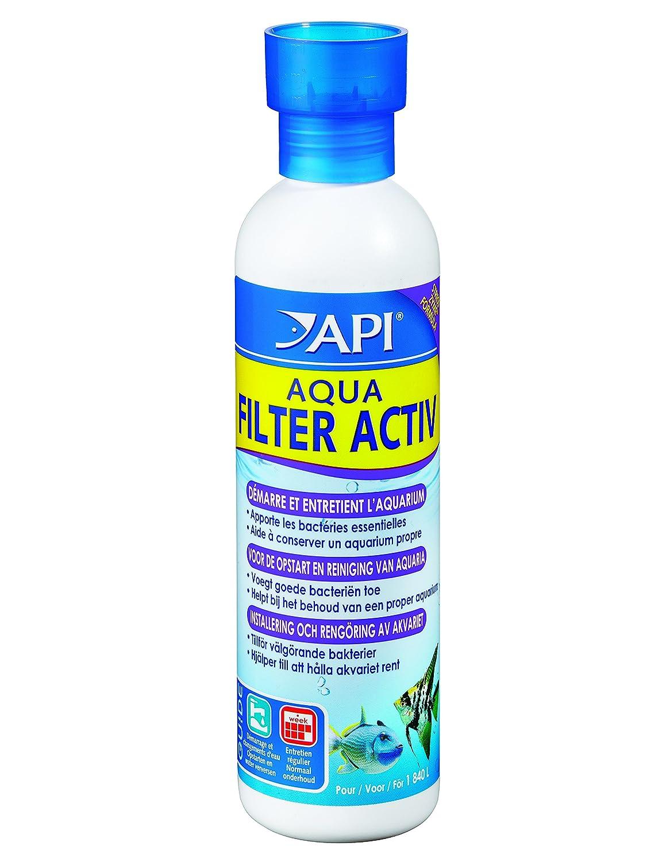Api Traitement de l'Eau pour Aquariophilie Aqua Filtre Activ 118 Ml Agrobiothers REN022104