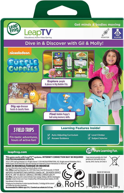 LeapFrog Leap Frog Leap TV Bubble Guppies Science /& Social Studies 3-5 LeapTV
