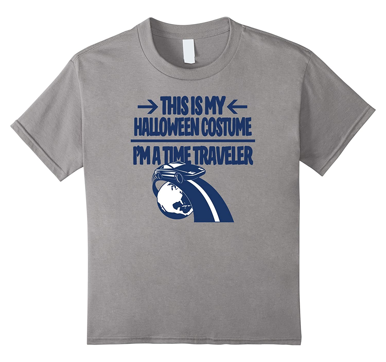 Time Traveler Costume Tshirt - Men Women Youth